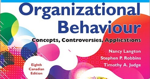 organizational behaviour concepts controversies applications
