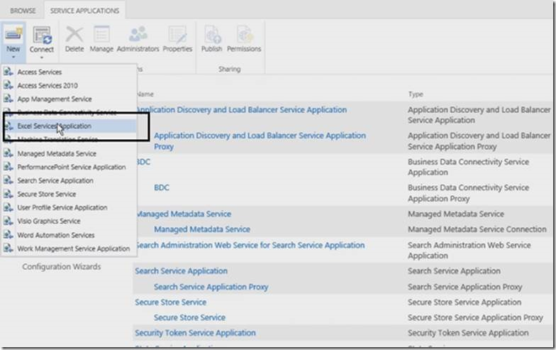 create a web application from excel