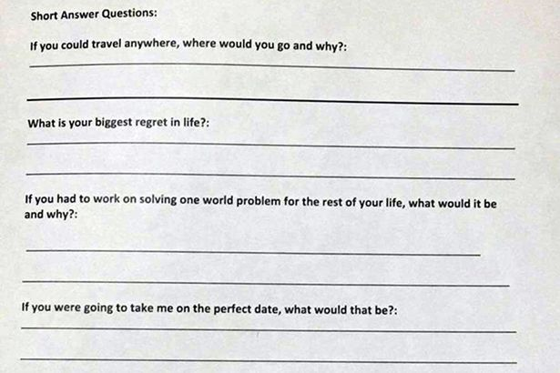 application to date me form