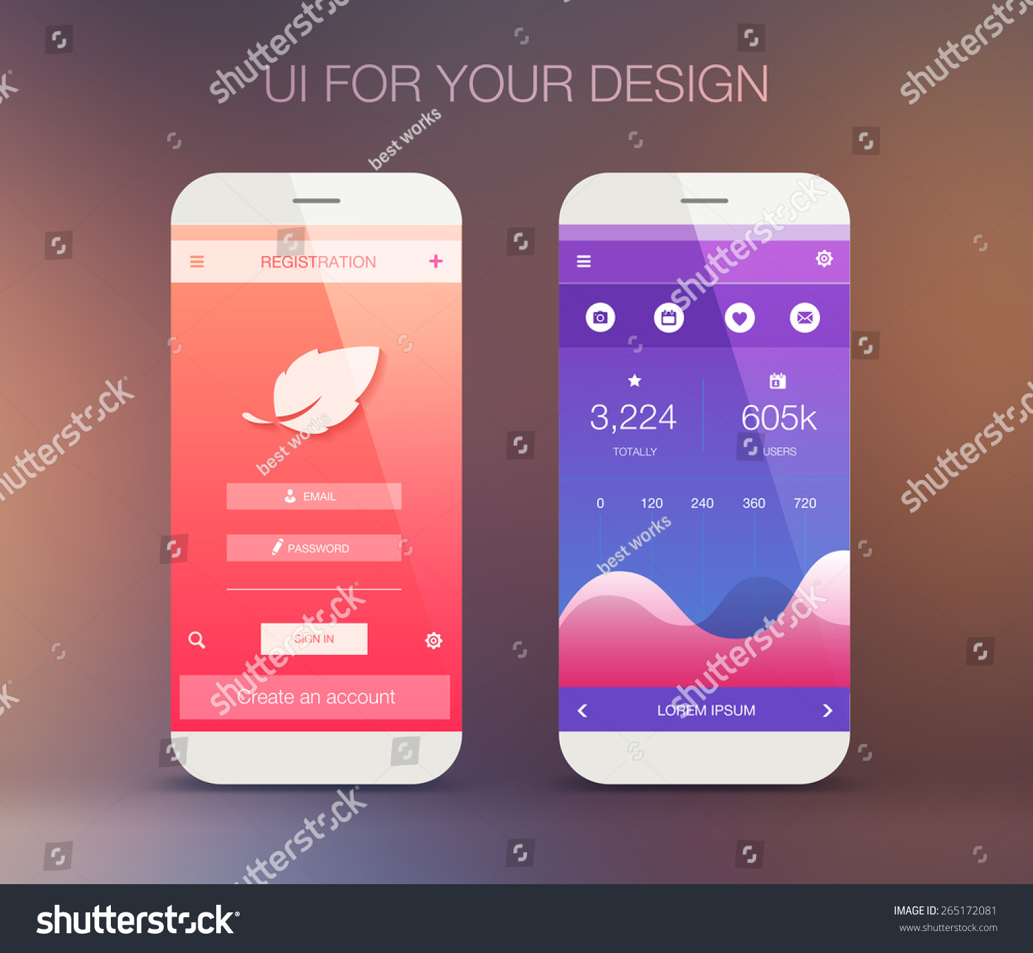 user interface design for mobile applications