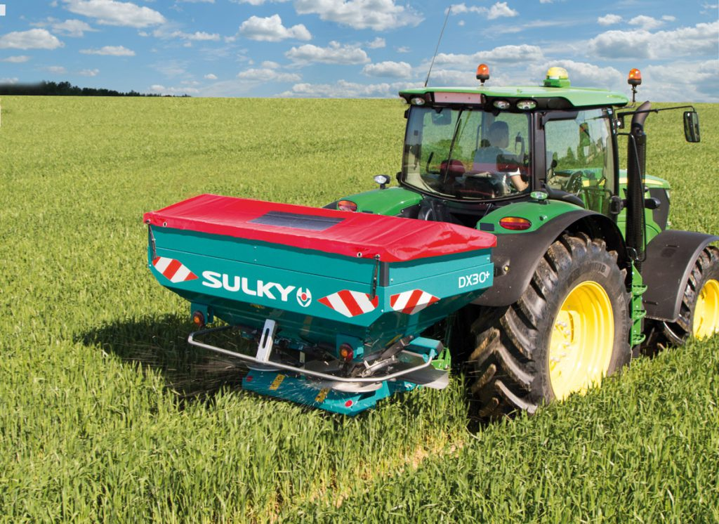 how to calculate fertilizer application rates per acre