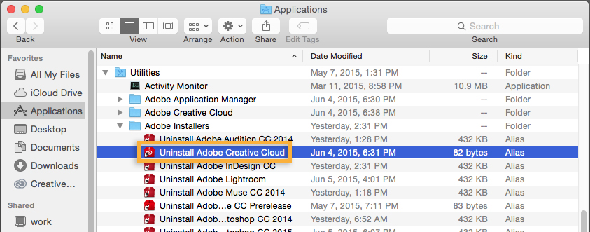 how to remove adobe application manager from mac