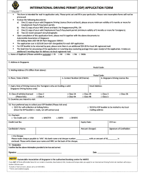 dl1 driving licence application form