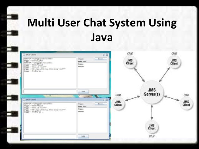 how to create a chat application in java