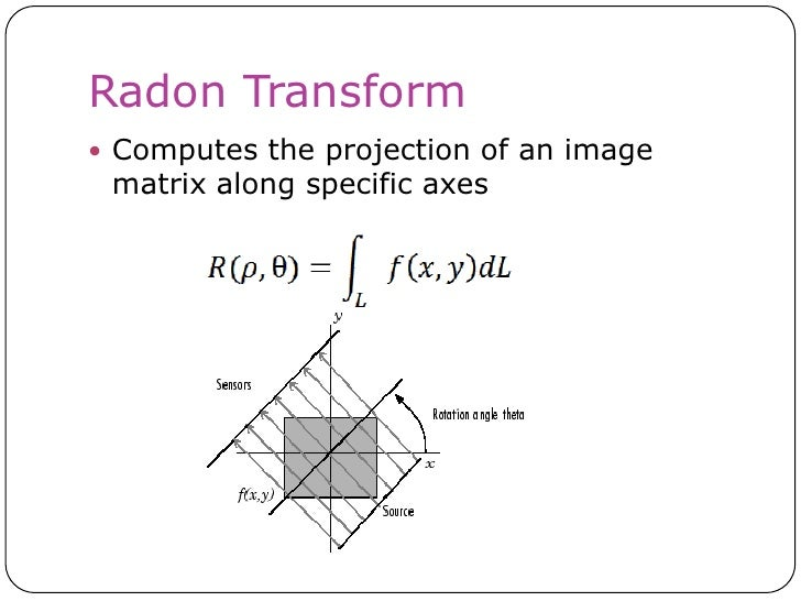 the radon transform and some of its applications